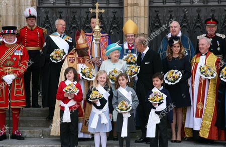 Editorial image of Royal Maundy Service, York, Britain - 05 Apr 2012