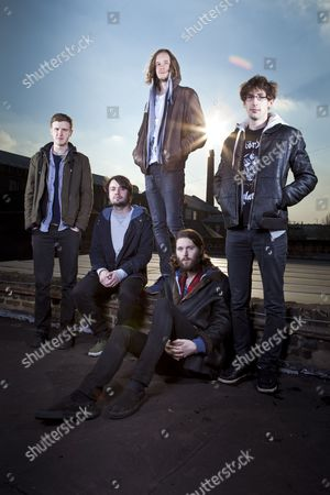 Editorial photo of Dry The River - 07 Feb 2012
