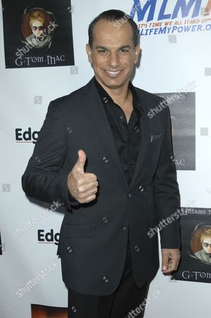 Editorial image of G Tom Mac 'Untame The Songs' CD release party, Los Angeles, America - 09 Apr 2012