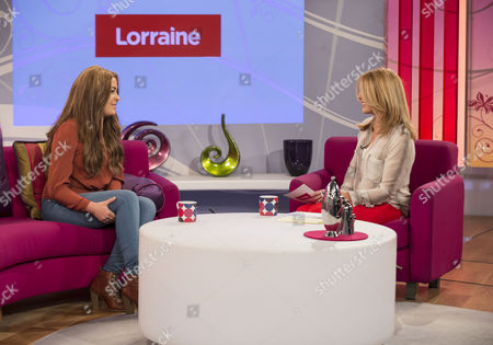 Editorial photo of 'Lorraine Live' TV Programme, London, Britain - 10 Apr 2012
