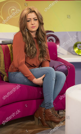 Editorial picture of 'Lorraine Live' TV Programme, London, Britain - 10 Apr 2012
