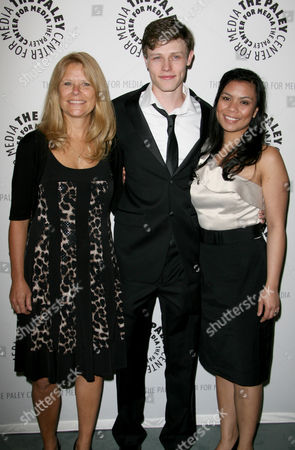 Nick Eversman with mother Donna and wife Emily