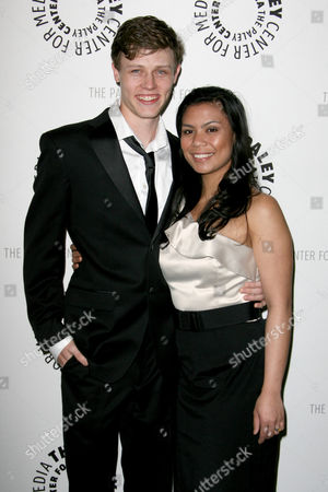 Nick Eversman with wife Emily