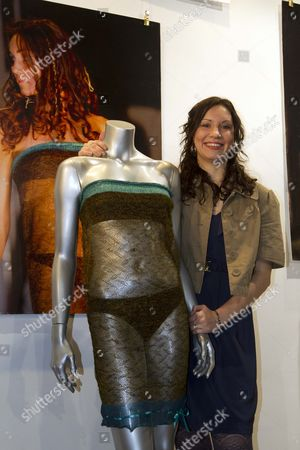 Fashion Auction At Kerry Taylor Auctions Of Charlotte Todd Dress That Kate Middleton Wore At St Andrews University Charity Fashion Show In 2002