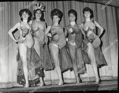 The Dancers Performing On The Last Night At The Windmill Theatre L To R Adele Warren Lola Scott Serena Armitage Shendah Pearce And Margaret Nicholson