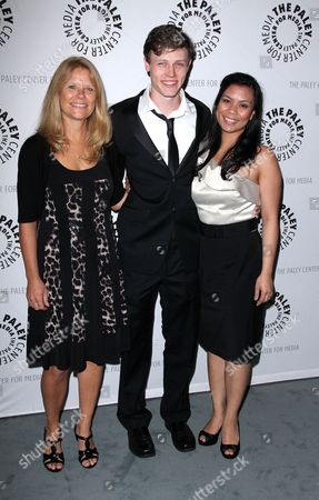 Nick Eversman, mum Donna Eversman, wife Emily Eversman