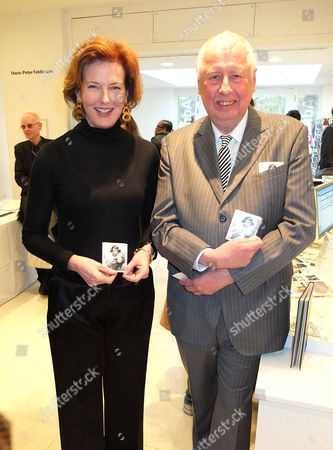 Julia Peyton-Jones and Hans-Peter Feldmann