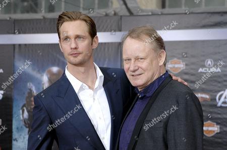 Alexander Skarsgard and father Stellan Skarsgard