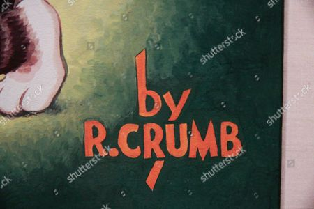 Editorial photo of Robert Crumb exhibition at Museum of Modern Art, Paris, France - 12 Apr 2012