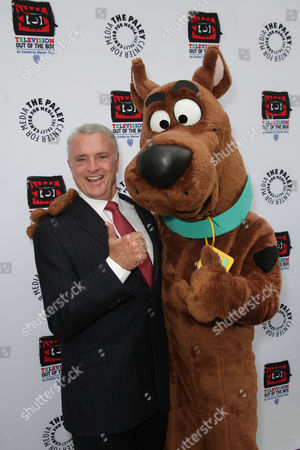Kevin Dobson and Scooby Doo