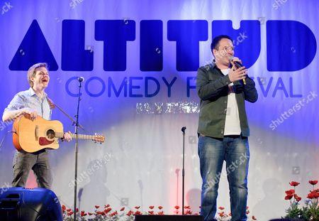 Editorial image of The Altitude Comedy Festival, Mayrhofen, Austria - Mar 2012
