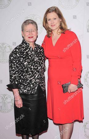 Dame Barbara Hay and Sarah Brown