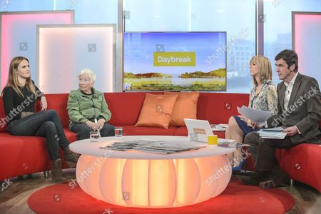 Ruth Bradley and Pat Lacey with Presenters Kate Garraway and John Stapleton
