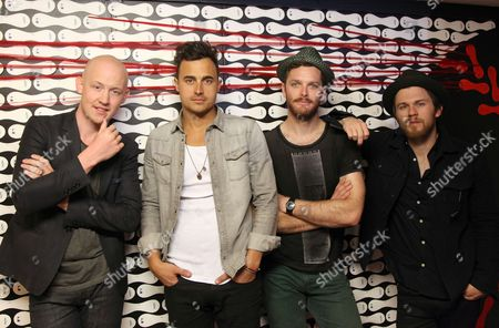 Isaac Slade, Joe King, Dave Welsh and Ben Wysocki - The Fray