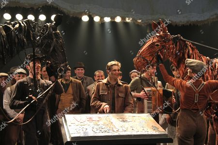 Editorial image of 'War Horse' play One Year Anniversary performance, New York, America - 14 Apr 2011