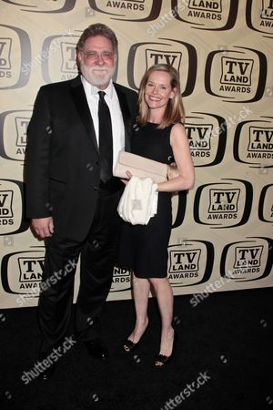 Richard Masur with wife