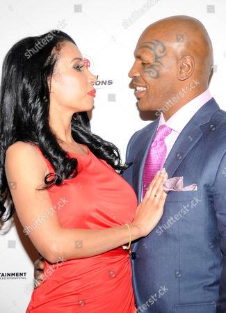 Lakiha Kiki Spicer Tyson and Mike Tyson