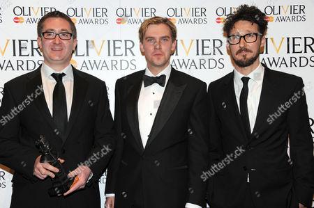 William Village, Dan Stevens and Timothy Sheader