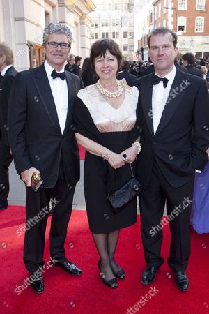Matthew Byam Shaw, Tessa Peake-Jones and Douglas Hodge