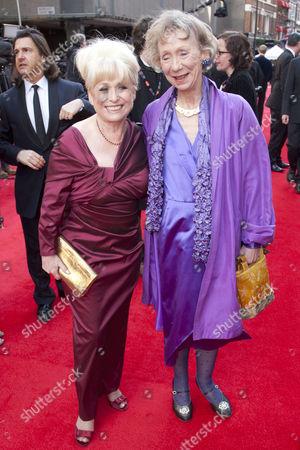 Barbara Windsor and Marcia Warren