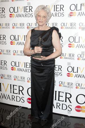 Monica Mason accepts The Special Award