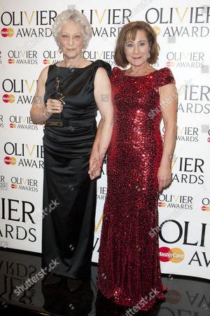 Monica Mason and Zoe Wanamaker accept The Special Award