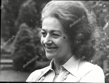 Margaret Lockwood Actress At Her Home In Kingston 1977.