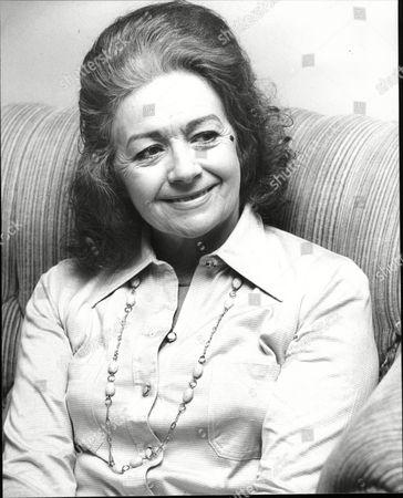 Margaret Lockwood Actress 1977.