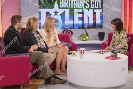 Editorial image of 'Lorraine Live' TV Programme, London, Britain - 16 Apr 2012