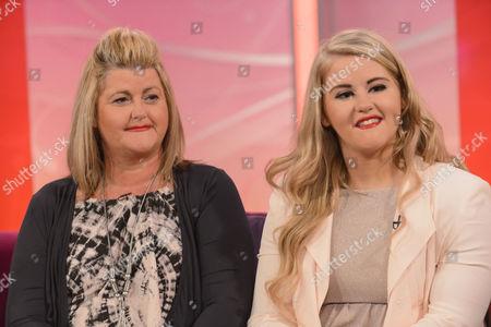 Editorial photo of 'Lorraine Live' TV Programme, London, Britain - 16 Apr 2012