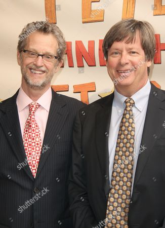 Stock Picture of Ridley Pearson and Dave Barry