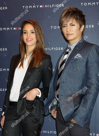 Editorial photo of Jessica Alba at the opening of the Tommy Hilfiger Flagship Store in Tokyo, Japan - 16 Apr 2012