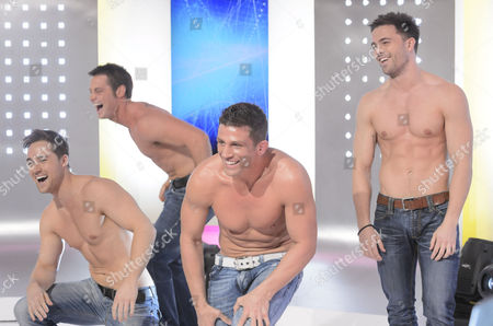 Stock Image of Wildboyz : Marcus Patrick, Danny Young, Alex Reid and Dale Howard