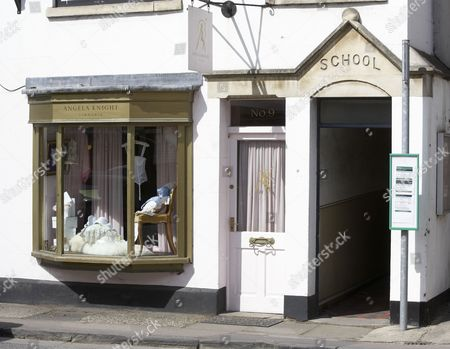 Stock Image of 'Angela Knight' lingerie shop