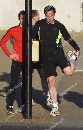 Matt Roberts and David Cameron