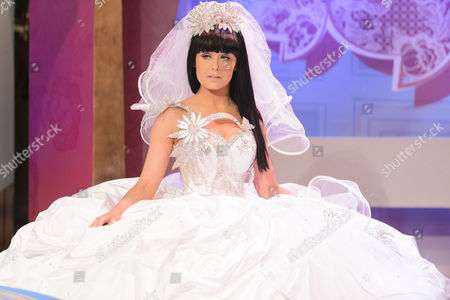 Stock Image of Thelma Madine wedding dress