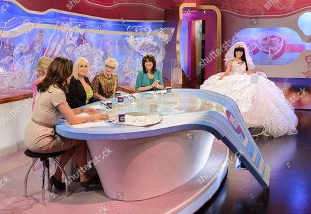 Andrea McLean, Lisa Maxwell, Thelma Madine, Jenny Eclair and Jane McDonald