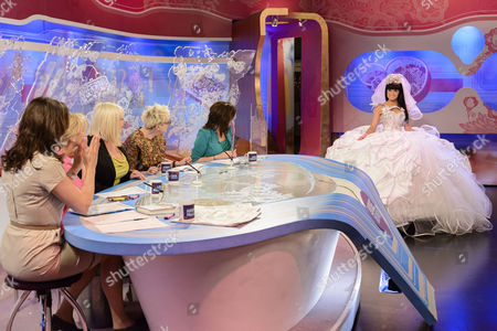 Editorial image of 'Loose Women' TV Programme, London, Britain - 16 Apr 2012