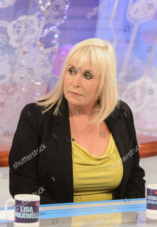 Editorial picture of 'Loose Women' TV Programme, London, Britain - 16 Apr 2012