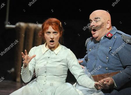 Patrizia Ciofi as Marie, Alan Opie as Sulpice