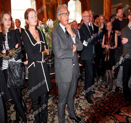 Sir David Tang and Elena Ochoa Foster