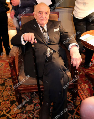 Stock Photo of Lord Weidenfeld