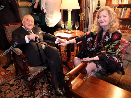 Stock Image of Lord Weidenfeld and wife Annabelle Whitestone