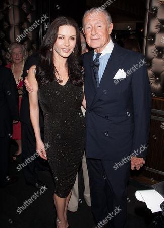Catherine Zeta-Jones and Joel Schumacher