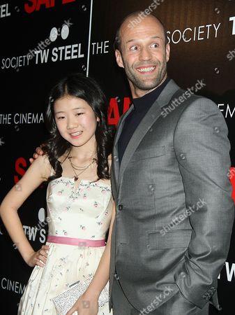 Catherine Chan and Jason Statham