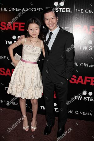 Catherine Chan and Reggie Lee