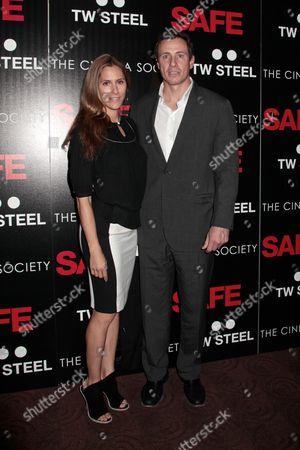 Cristina Greeven Cuomo and Chris Cuomo