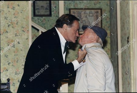 Henry Mcgee And Charlie Drake Actors In Play Funny Money At The Playhouse 1995.