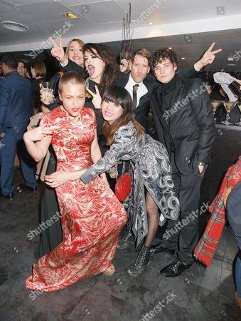Editorial image of 'Elfie Hopkins' film premiere after party, London, Britain - 16 Apr 2012