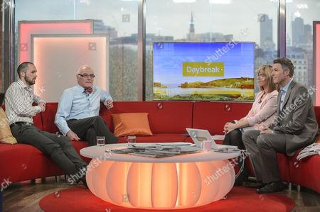 Editorial image of 'Daybreak' TV Programme, London, Britain - 17 Apr 2012